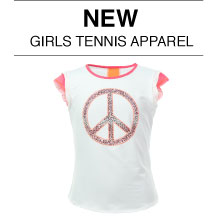 New Girl's Tennis Apparel