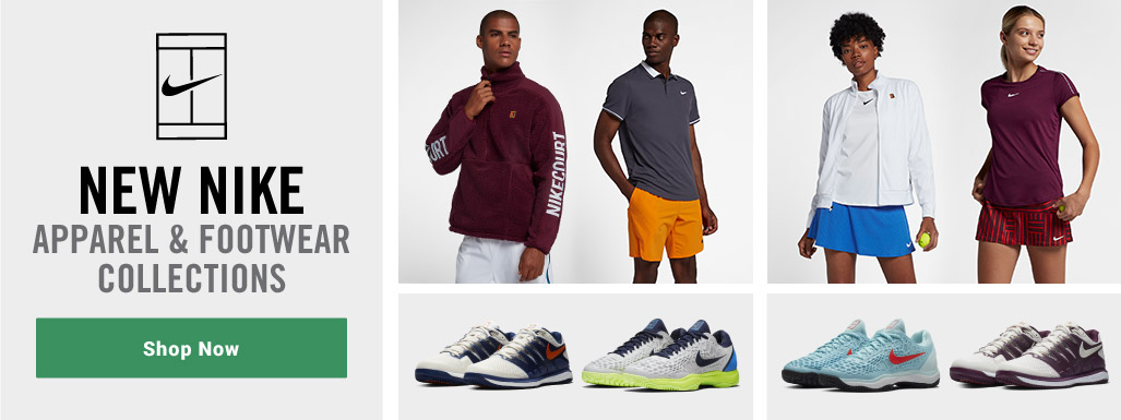 Nike 2018 Tennis Apparel and Shoes