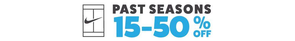 Save On Past Season Nike Tennis Gear