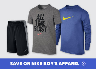 Save on Nike Boys' Tennis Apparel
