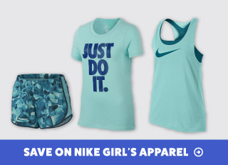 Save on Nike Girls' Tennis Apparel