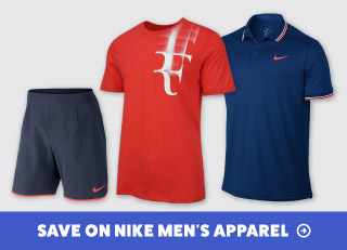 Save on Nike Men's Tennis Apparel