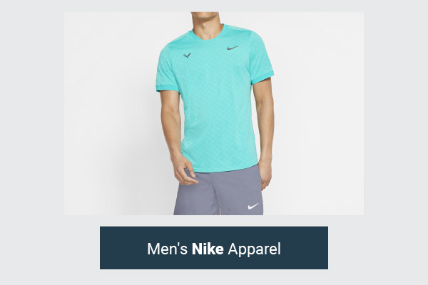 Nike Men's Clearance Tennis Apparel