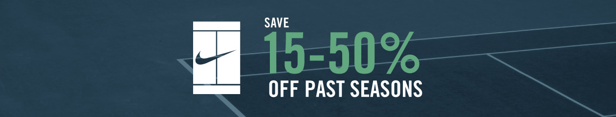 Save On Past Season Nike Tennis Gear
