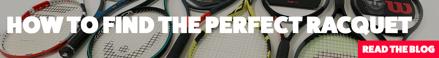 How to find the perect tennis racquet
