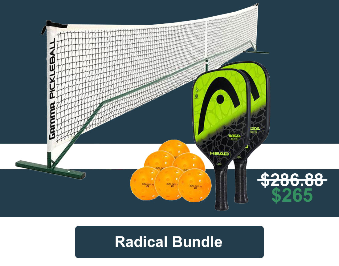 Pickleball at Home Set - Radical Pack