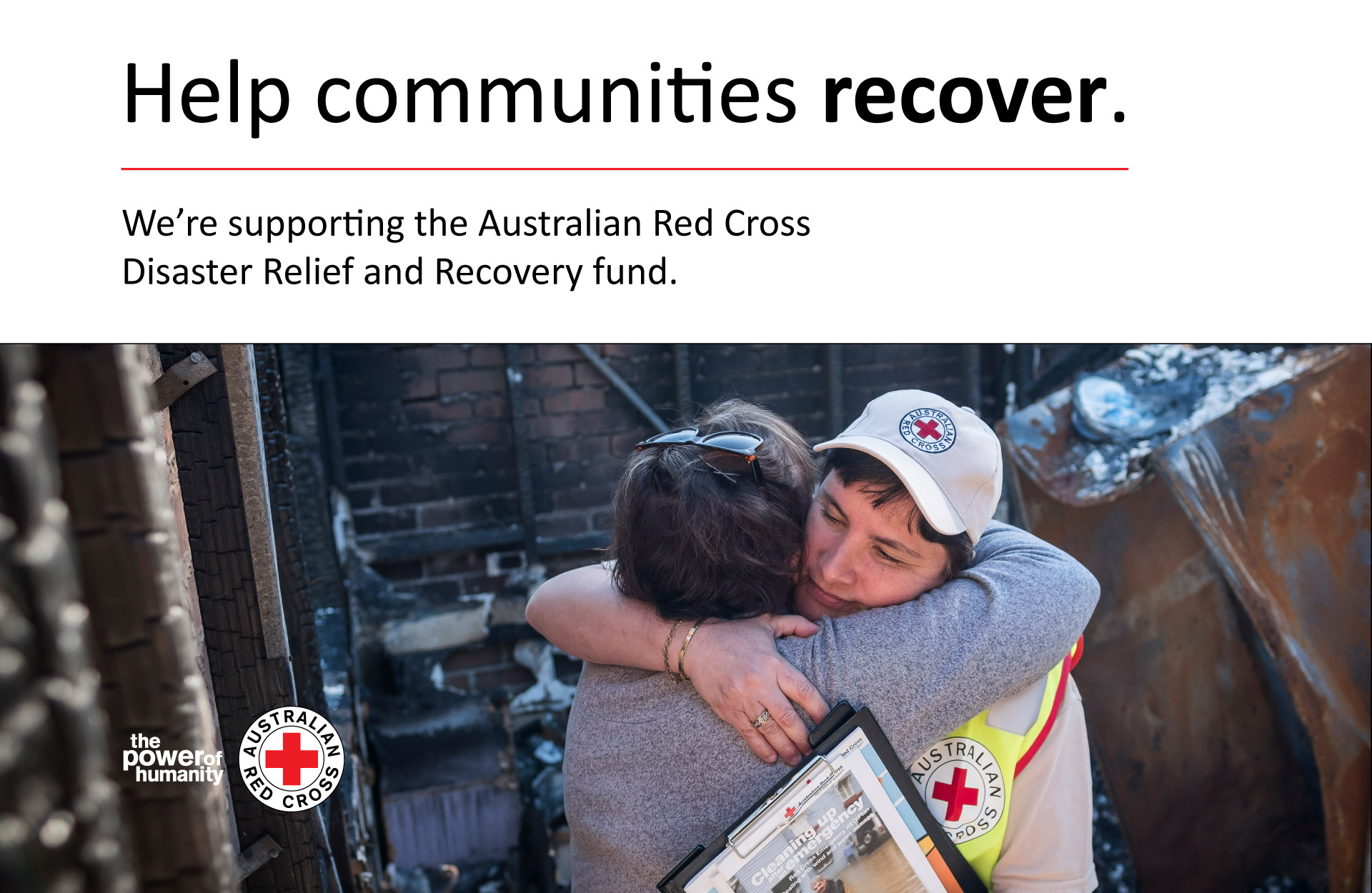 Australian Red Cross Disaster Relief and Recovery fund