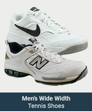 Men's Wide Width Shoes