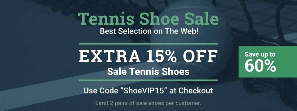 15% Off Sale Tennis Shoes