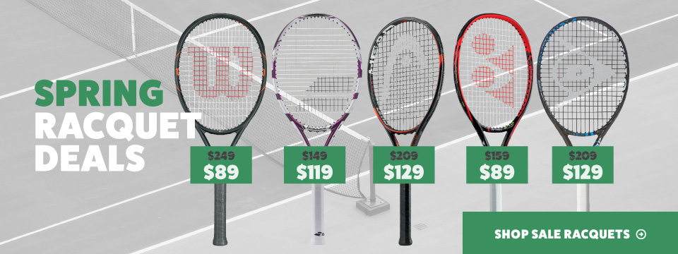 Spring Tennis Racquet Deals