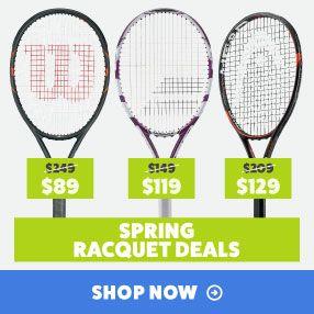 Spring Tennis Racquet Sale