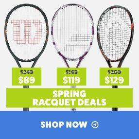 Spring Tennis Racquet Deals
