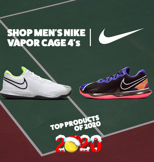 Nike Mens Vapor Cage 4 Tennis Shoes - Used on Tour by Rafa Nadal