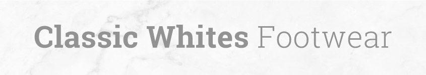 White Womens Shoe