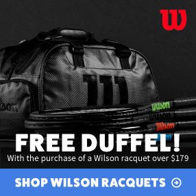 Free Bag with Racquet Purchase