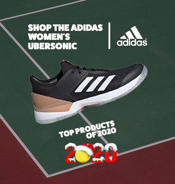 adidas Women's Ubersonic Tennis Shoe