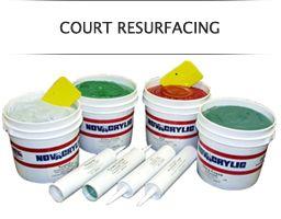 Tennis Court Resurfacing Supplies