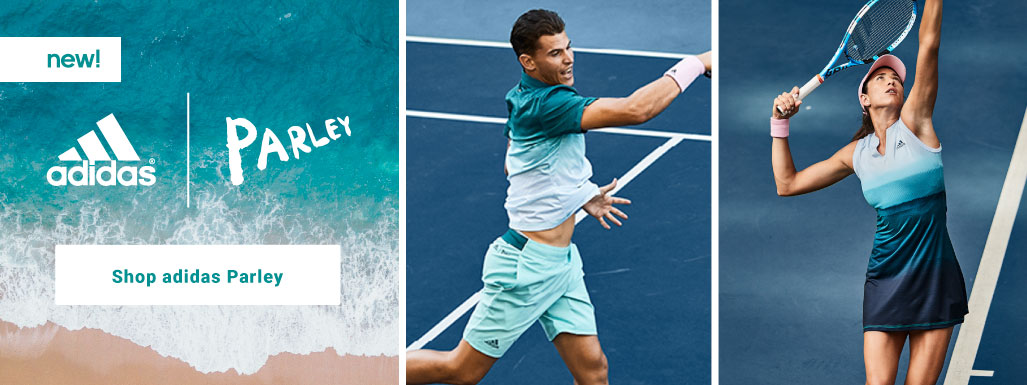 Adidas Tennis Apparel and Footwear