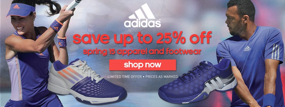Save 20% Off adidas Spring apparel