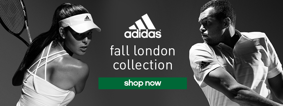 New adidas Summer tennis Whites being worn in London