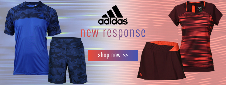 adidas Response mens and womens Tennis Apparel