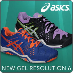 New Asics Gel Resolution 2015 Men and Womens Tennis Shoes