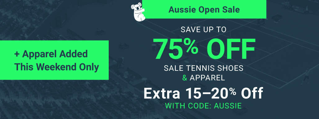 Aussie Open Shoe & Apparel Sale