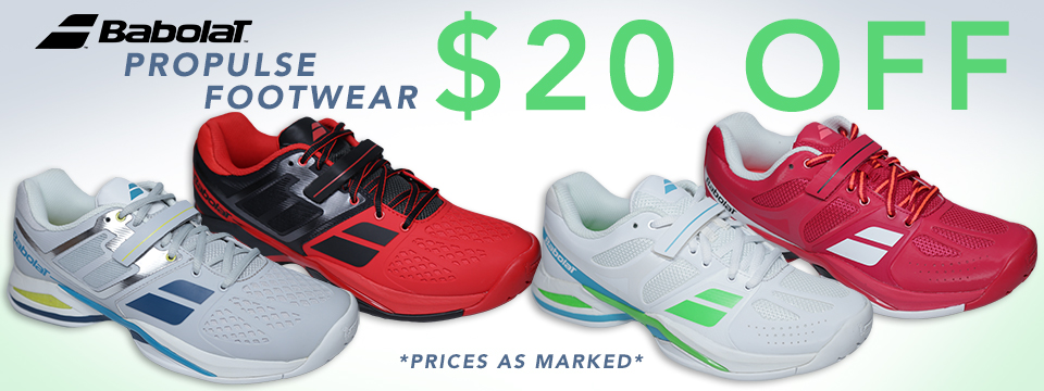 $20 Off Babolat Propulse Tennis Shoes