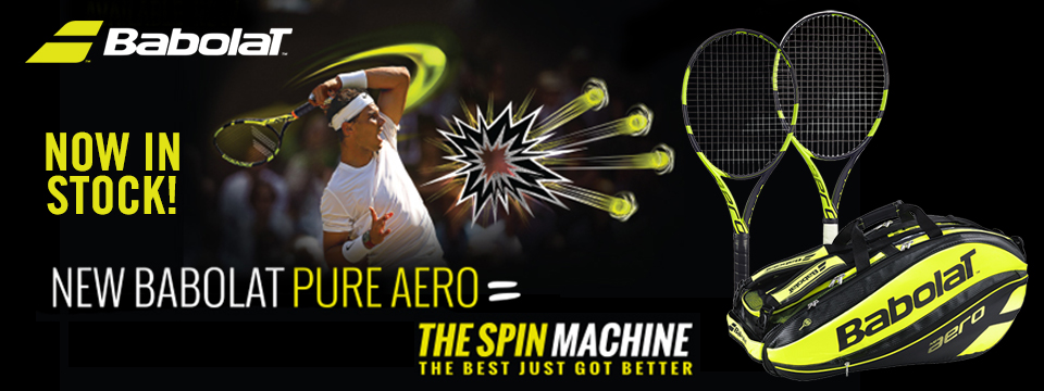 Babolat Pure Aero Now in Stock