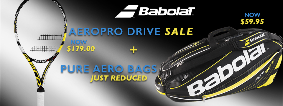 Babolat Aeropro Drive On Sale