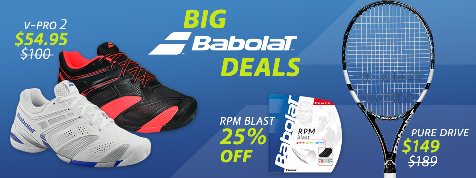 Big Babolat Tennis Deals
