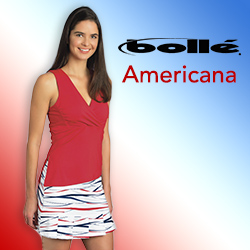 Shop Bolle women's tennis apparel for Summer 2015