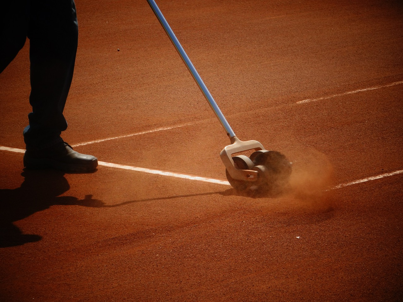 Clay Tennis Court