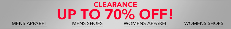 Get the latest clearance products.