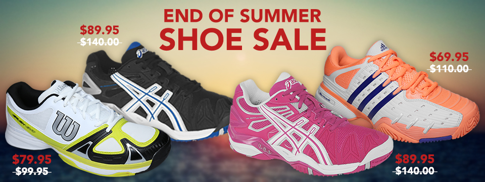 End of Summer Shoe Sale