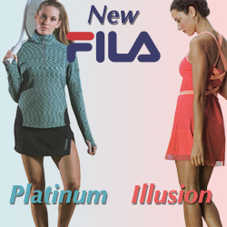 Shop Fila Women's tennis apparel for Fall 2015
