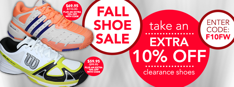 10% Off Footwear Sale