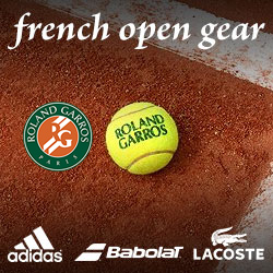 2015 French Open Tennis Gear