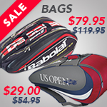 Sale Tennis Bags from top brands Babolat, Wilson, and more