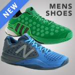 Offering a large selection of new men's tennis shoes for Fall 2015