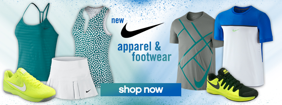 New Nike Apparel and Footwear