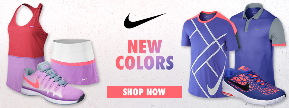 Shop New and Sale Nike Tennis Footwear and Tennis Apparel