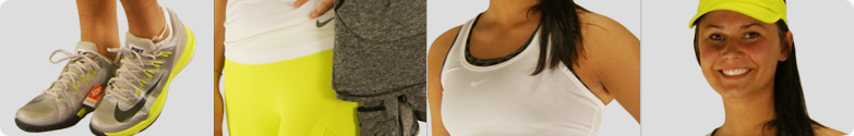 Nike Pro Hypercool Tank and Capri Tennis Outfit