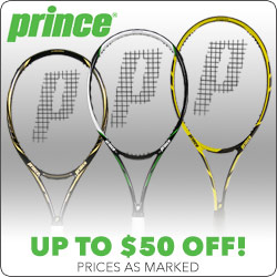 Prince Tennis Racquet and string deals