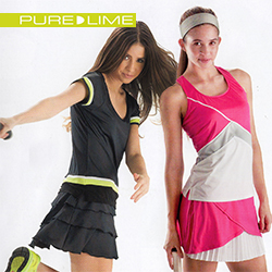 Pure Lime womens tennis apparel