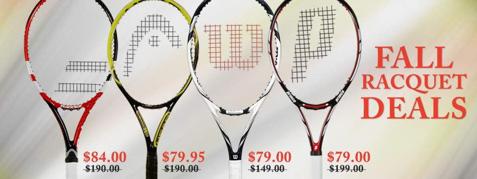 Fall Racquet Deals