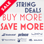 Great String Deals from Babolat, Prince, Luxilon, Technifibre, Kirschbaum and Solinco