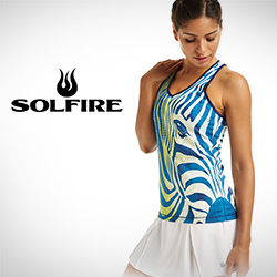 New Women's Solfire Tennis Apparel