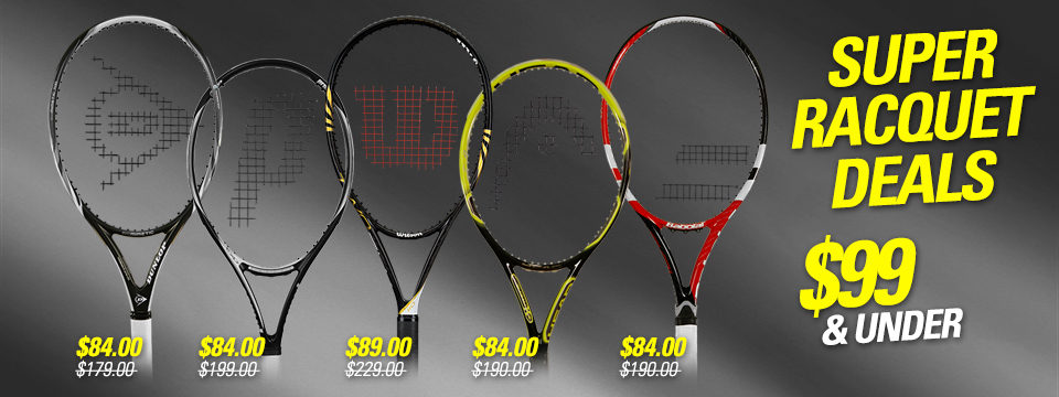 Super Racquet Deals Under $99
