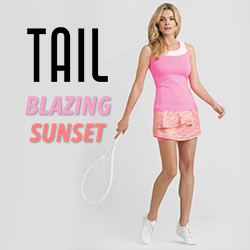 Shop Tail women's tennis apparel for Summer 2015